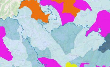 Carte haut-tres haut débit du SIEDA