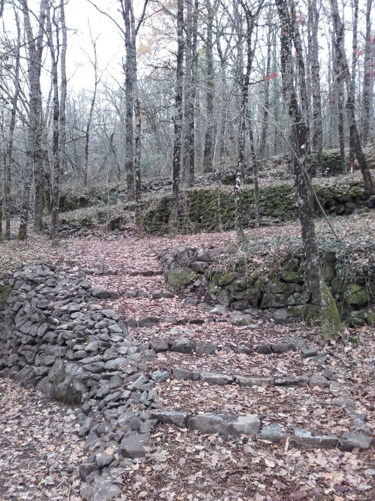Chemin de St Jacques réaménagé à Espalion