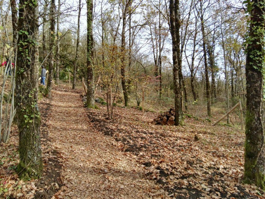 Chemine mulch, St Jacques de Compostelle, Espalion - St Come