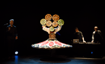 Spectacle culturel Dervich Tendances proposé au Nayrac
