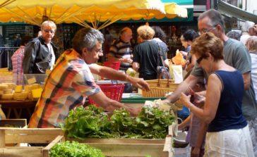 Au marché, Aveyron, 3clt
