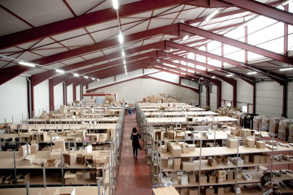 Entrepôt d'Aurore Market, bozouls, aveyron, 3clt